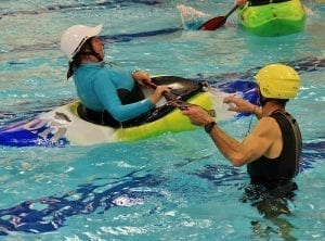 Waiver release whitewater kayaking pool liability